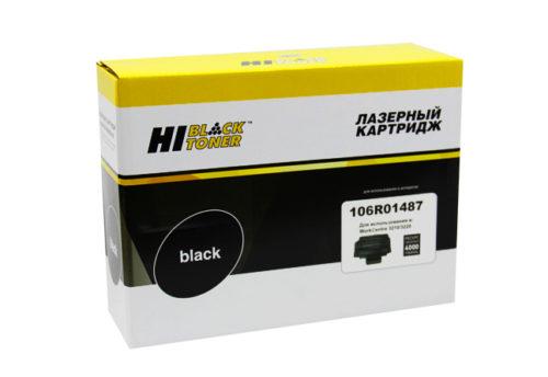 Картридж Hi-Black (HB-106R01487) для Xerox WC 3210/3220, 4,1K - картинка товара