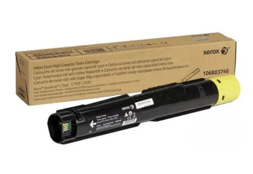 Тонер-картридж XEROX VersaLink C7020/7025/7030, 16,5К (О) желтый 106R03746 - картинка товара