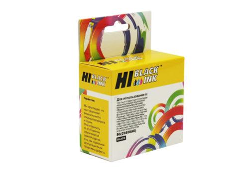 Картридж Hi-Black (HB-C6656AE) для HP PCS 2100/DJ 5550/450/PS7150/7350/7550, №56, Bk - картинка товара