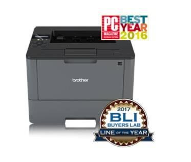 Принтер лазерный Brother HL-L5100DN A4, 40 стр/мин, дуплекс, LAN, USB, лоток 250 л. - картинка товара
