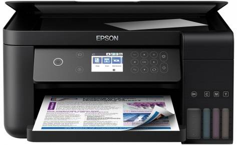 Фабрика Печати Epson L6160, А4, 4 цв., копир/принтер/сканер, Duplex, Ethernet, USB, WiFi - картинка товара
