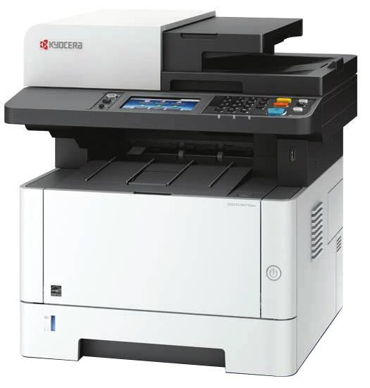 Лазерный копир-принтер-сканер-факс Kyocera M2735dn (А4, 35 ppm, 1200dpi, 512Mb, USB, Network, автоподатчик, тонер) с дополнительным тонером TK-1200 - картинка товара