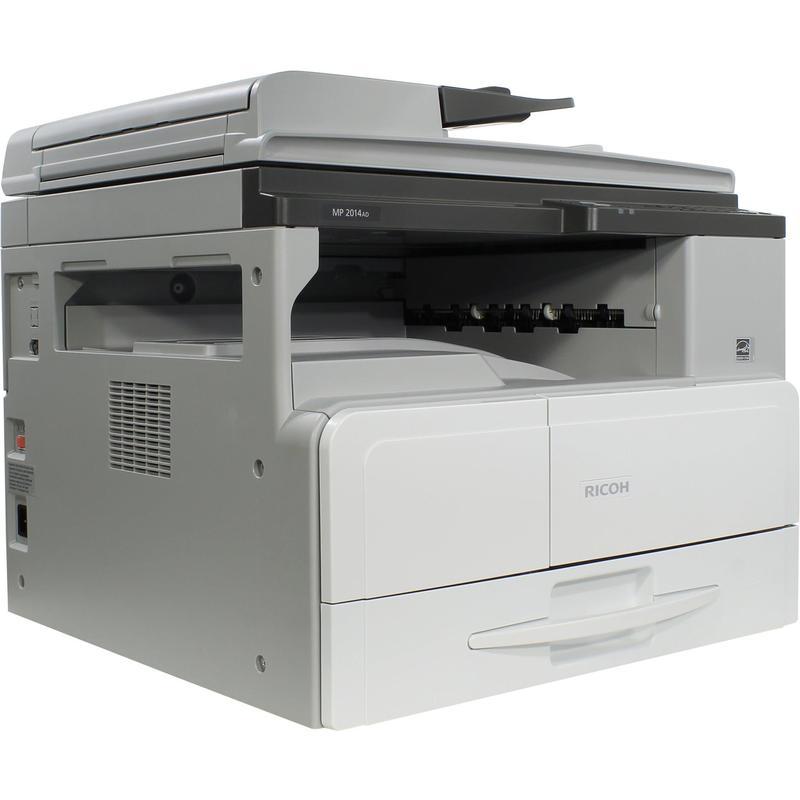 Цифровое МФУ Ricoh Aficio MP 2014AD (A3, 20 стр/мин,копир/принтер/цв.сканер/девелопер/дуплекс + бесплатный запуск АСЦ) - картинка товара
