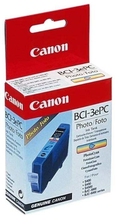 Картридж CANON BCI-3 PC фото-голубой - картинка товара