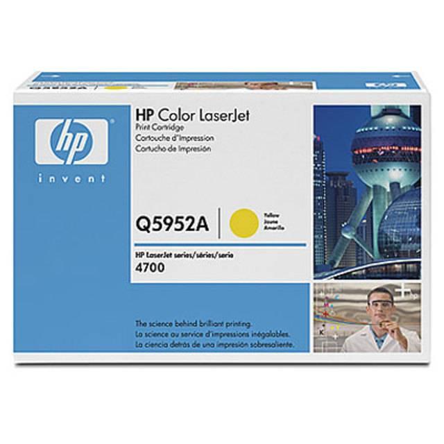 Картридж HP 643A лазерный желтый (10000 стр) - картинка товара
