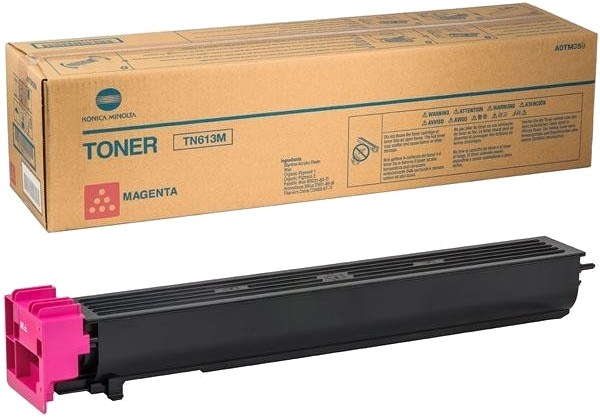 Тонер Konica-Minolta bizhub C452/552/652 красный TN-613M (o) - картинка товара
