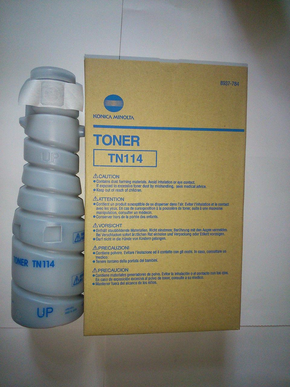 Тонер Konica-Minolta Di152/183/211/1611/2011/bizhub 162/163/210/211  тип 106B/TN-114 (о)  1 шт !! - картинка товара